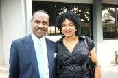 Pastor Ituah Ighodalo and Princess Asha Okojie, CEO AfriQtalk LLC