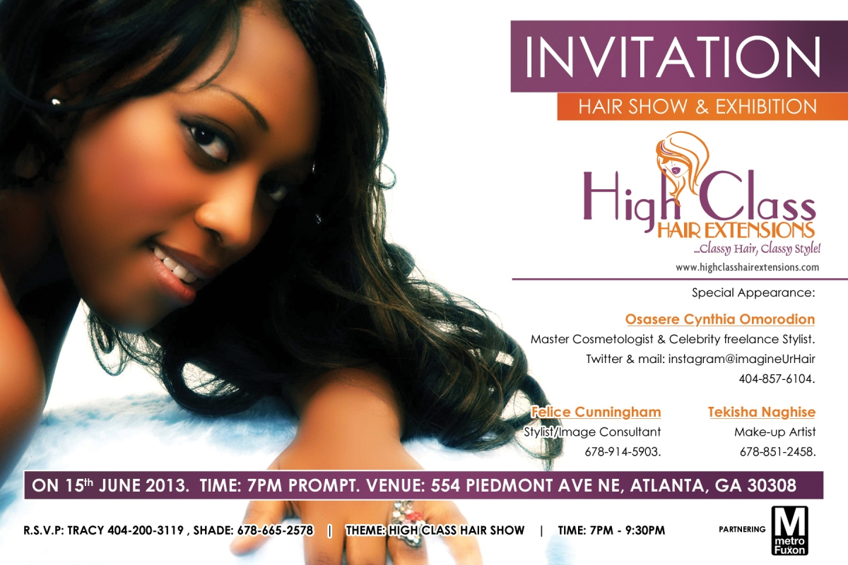 For Immediate Release High Class Hair Extensions Launches Its First